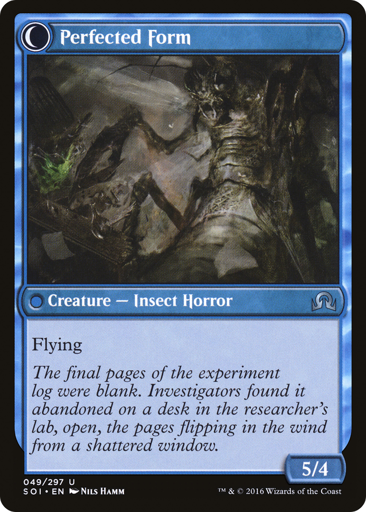 Aberrant Researcher // Perfected Form Card Image