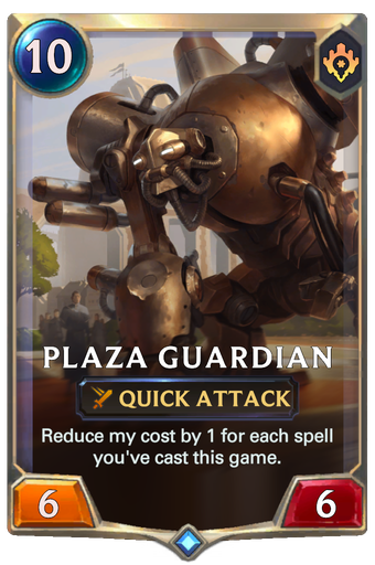 Plaza Guardian Card Image