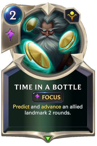 Time in a Bottle Card Image