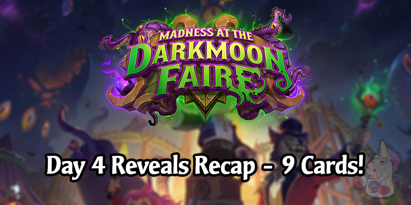 Day 4 of Madness at the Darkmoon Faire Card Reveals - All 9 Cards!