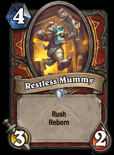 Restless Mummy Card Image
