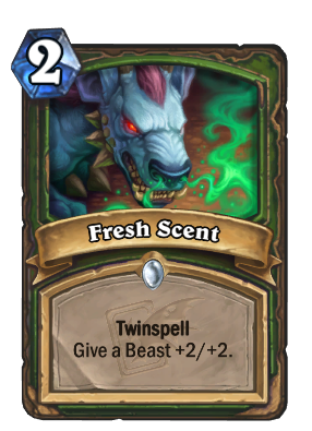 Fresh Scent Card Image