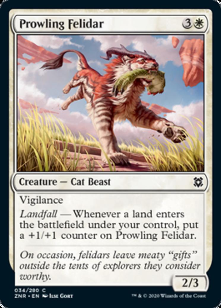 Prowling Felidar Card Image