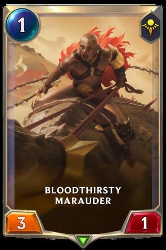 Bloodthirsty Marauder Card Image