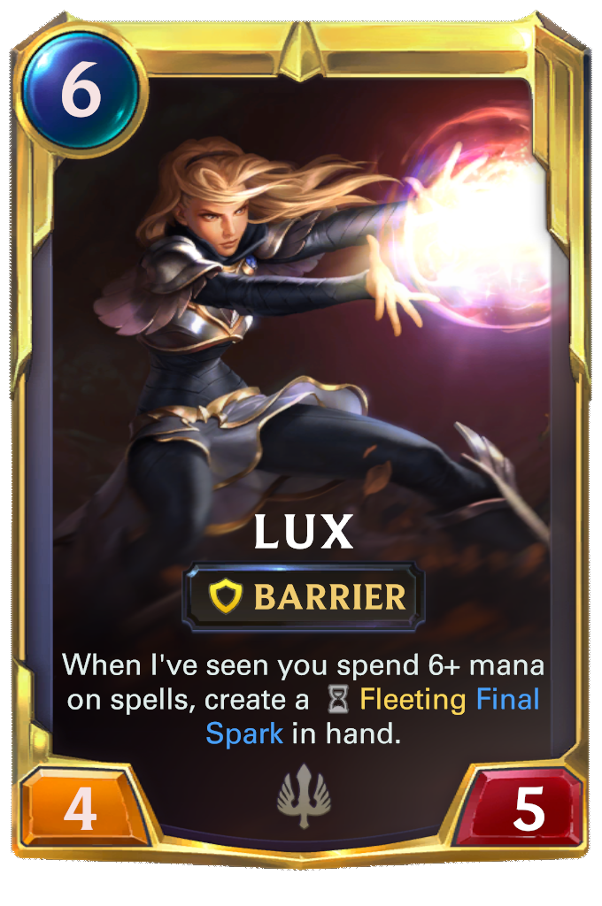 Lux Card Image