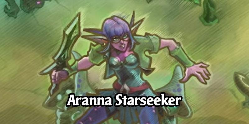 Hearthstone's Demon Hunter Gets a New Cosmetic Hero via Shop Bundle - Aranna Starseeker, Elise's Younger Sister