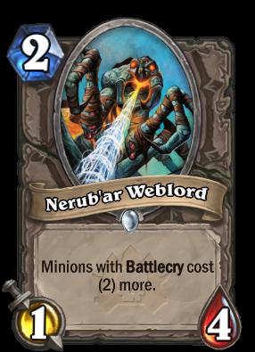 Nerub'ar Weblord Card Image