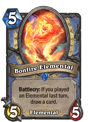 Bonfire Elemental Card Image