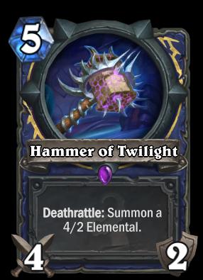 Hammer of Twilight Card Image