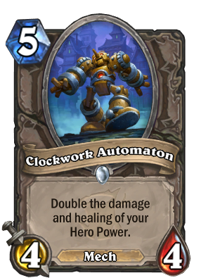 Clockwork Automaton Card Image