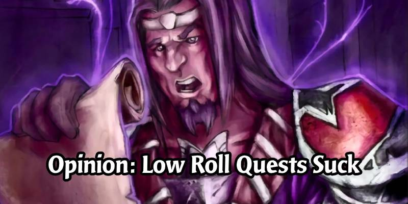 Opinion: The Current State of Quests in Hearthstone and Its Impact on the Rewards Track