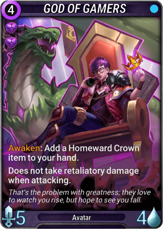 God of Gamers Card Image