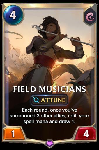 Field Musicians Card Image