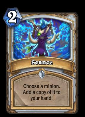 Seance Card Image