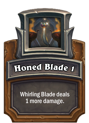 Honed Blade 1 Card Image