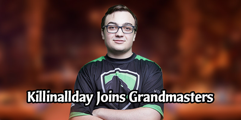 Killinallday Replaces Gallon in Hearthstone Grandmasters