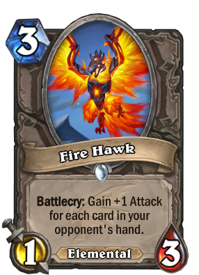 Fire Hawk Card Image