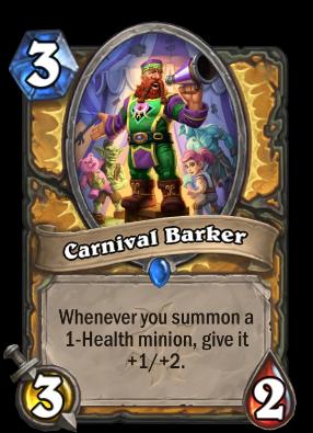 Carnival Barker Card Image