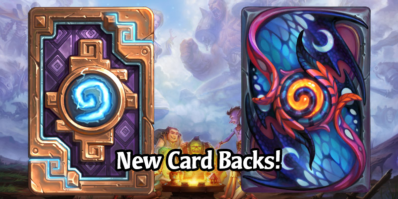 New Card Backs in the Scholomance Academy Pre-Patch - Faerie Tail & The Breaker