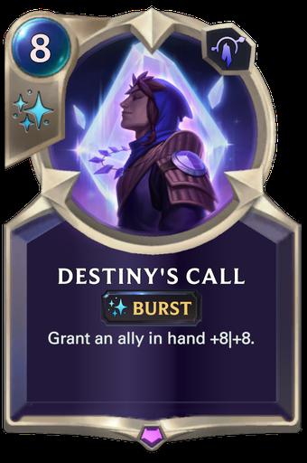 Destiny's Call Card Image