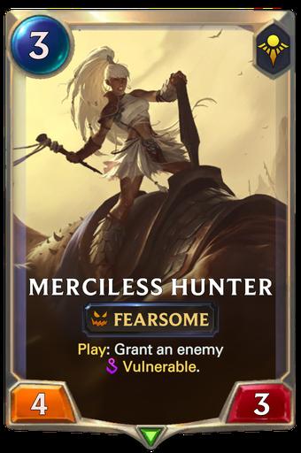 Merciless Hunter Card Image