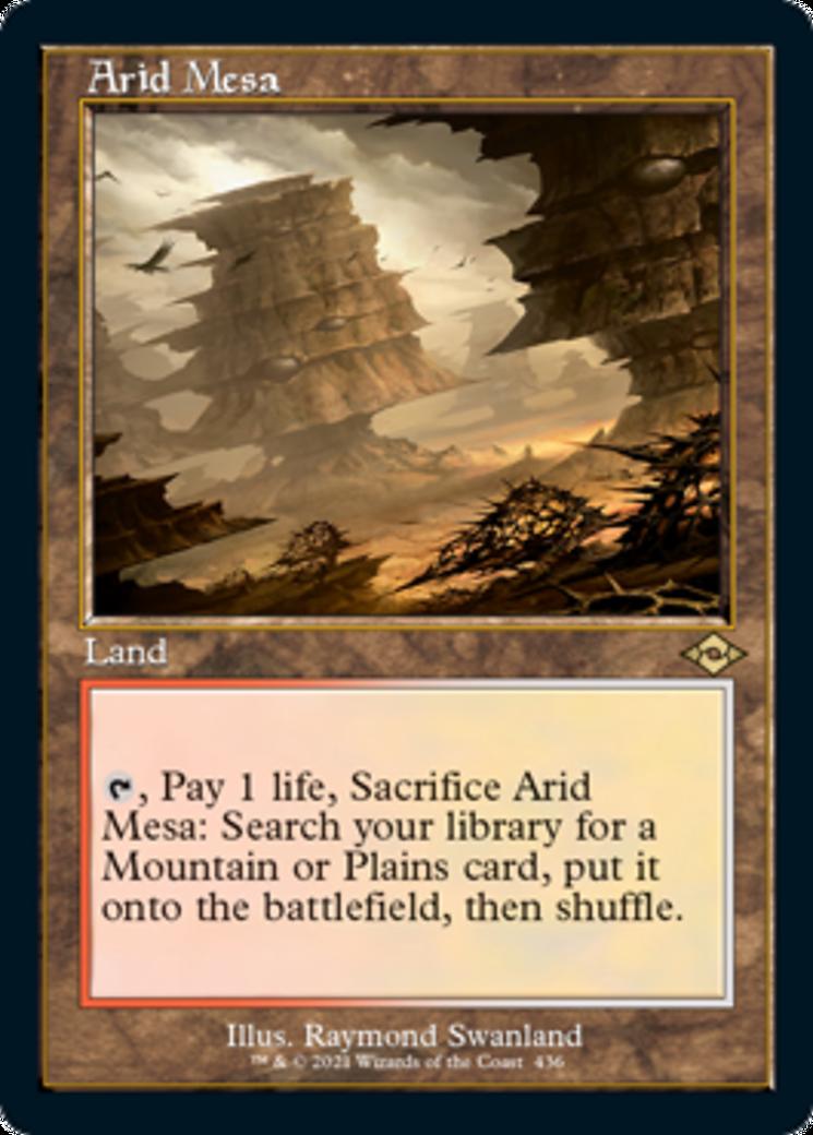 Arid Mesa Card Image