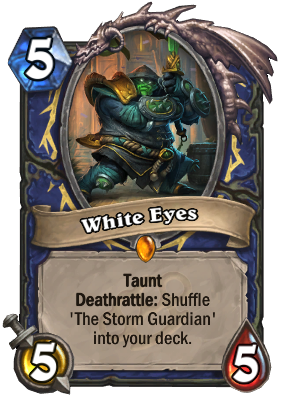 White Eyes Card Image