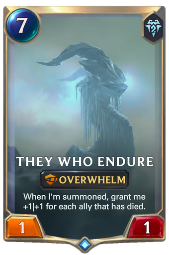 They Who Endure Card Image