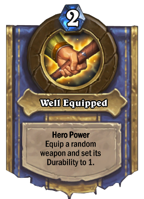 Well Equipped Card Image