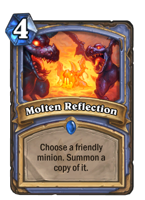 Molten Reflection Card Image