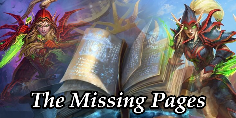 The Story of Valeera: The Missing Pages of the Book of Heroes