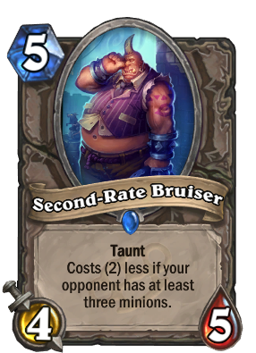 Second-Rate Bruiser Card Image