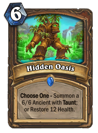 Hidden Oasis Card Image