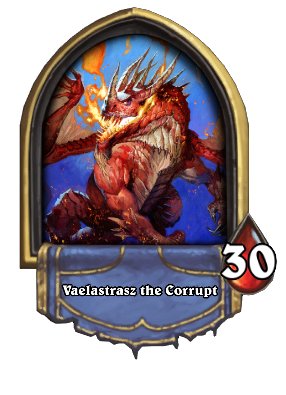 Vaelastrasz the Corrupt Card Image
