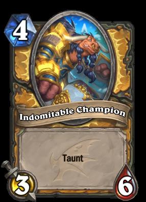 Indomitable Champion Card Image