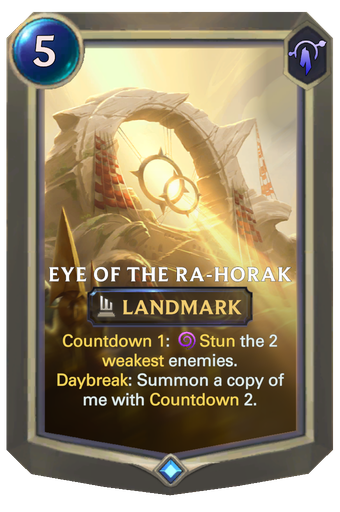 Eye of the Ra-Horak Card Image