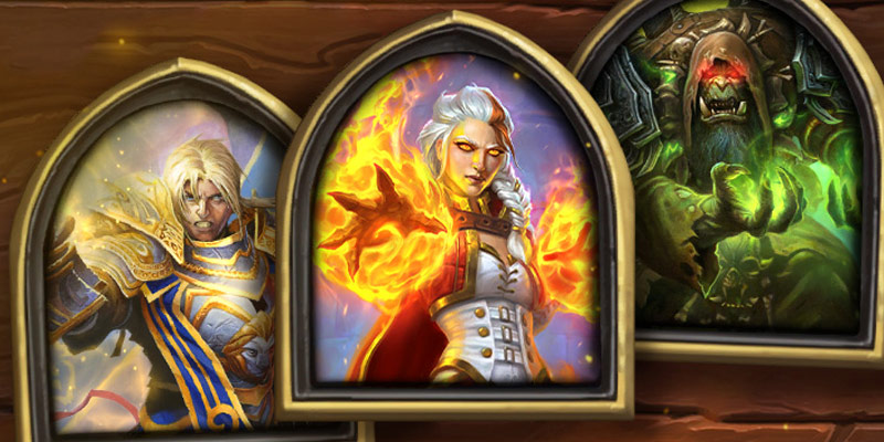 Event: 23 Cards Moving from Wild to Standard (Ragnaros & N'Zoth Included), 1000 Win Portraits, More Events