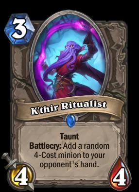 K'thir Ritualist Card Image