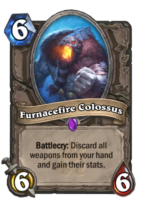 Furnacefire Colossus Card Image