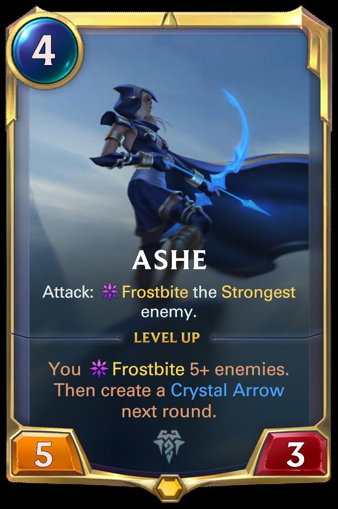 Ashe Card Image