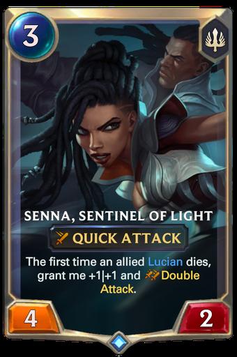 Senna, Sentinel of Light Card Image