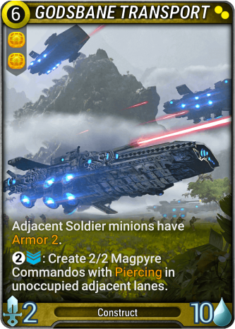 Godsbane Transport Card Image