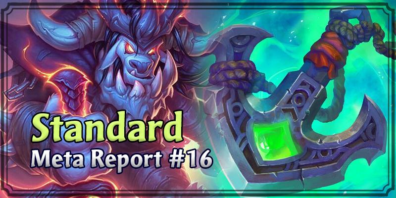 Standard Meta Report #16 - December 22, 2019 - December 29, 2019