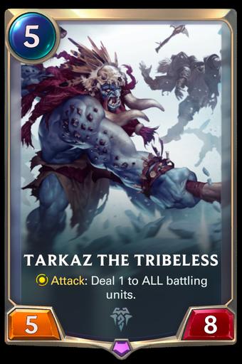 Tarkaz the Tribeless Card Image